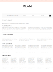 Glam Pro – Colum page template