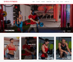 Gym & Fitness – Trainers