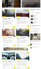 Novelo – blog in grid layout