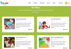 Our News Section of Kidzone