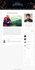 Pick – full width page layout