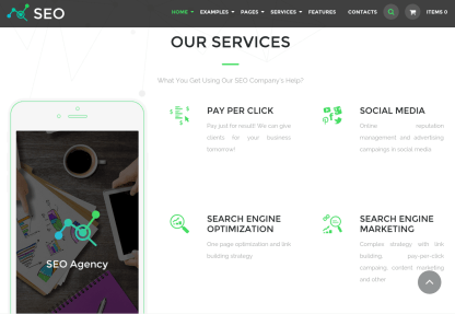 Services Section of The SEO