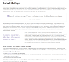 Uniqmag – fullwidth page template