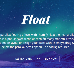 Float homepage