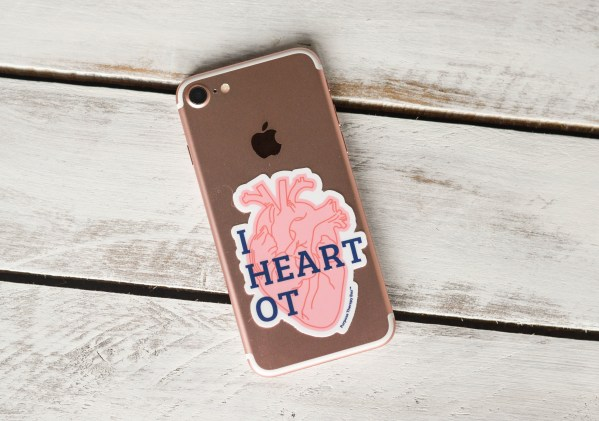 Occupational Therapy Sticker- I Heart OT (Purpose Therapy Box)
