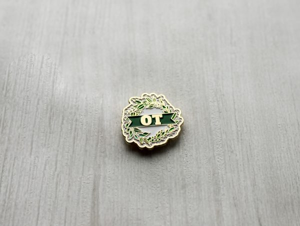 Golden Standard Occupational Therapy Pin