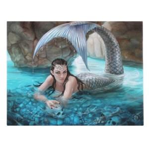 25x19cm Hidden Depths Canvas Plaque by Anne Stokes