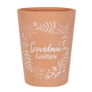 Grandma's Garden Terracotta Plant Pot