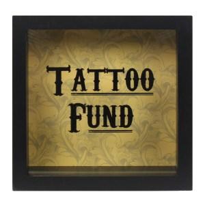 Cabinet Of Curiosities Tattoo Fund Money Box