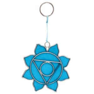 Throat Chakra Symbol Mini Suncatcher