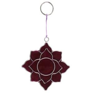Crown Chakra Symbol Mini Suncatcher