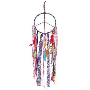 Rainbow Peace Dreamcatcher