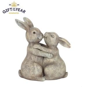 You Make my Heart Thump Bunny Ornament