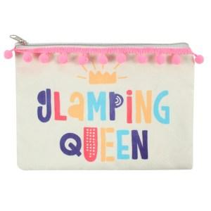 Glamping Queen Makeup Bag