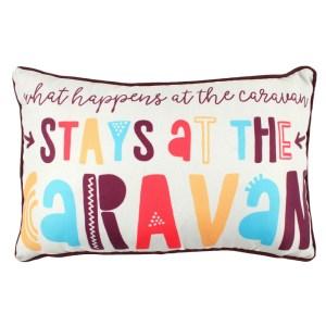 Stays At The Caravan Cushion
