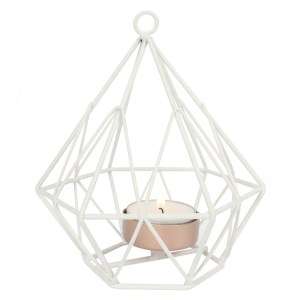 White Wire Tealight Holder