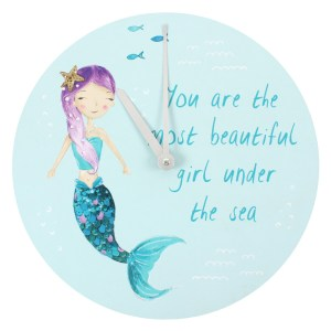 Melody the Mermaid Wall Clock