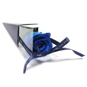 Single Rose - Blue  Rose