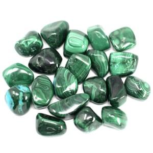 African Gemstone Malachite