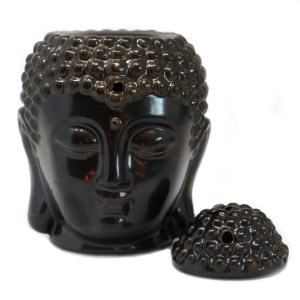 Buddah Head Oil Burner - Dark Brown