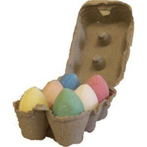 6x Bath Eggs in a Tray - Mixed Tray