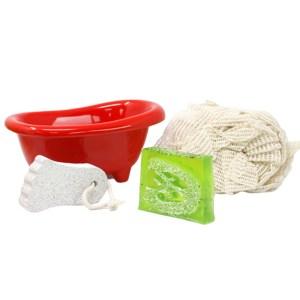 Srunchie , Scrub & Soap Bath Gift Set