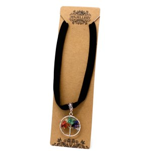 Chakra Tree of Life Necklace - Small
