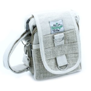 Body-Cross Natural Hemp & Cotton Travel Bag