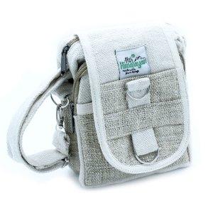 Body-Cross Natural Hemp & Cotton Travel Bag