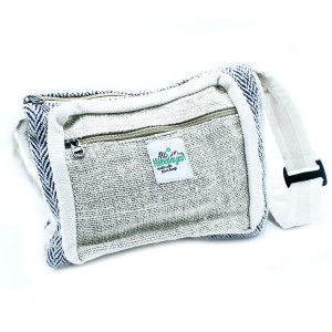 Messenger Bag - Hemp & Cotton