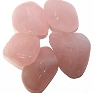 L Tumble Stones - Rose Quartz