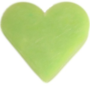 Heart Guest Soap - Green Tea