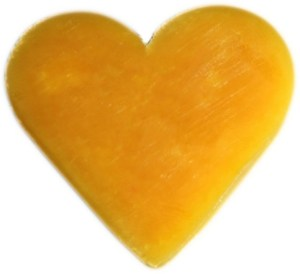 Heart Guest Soap - Orange & Warm Ginger