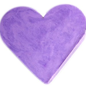 Heart Guest Soap - Lavender
