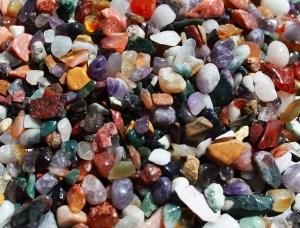 Mixed Natural Gemstone Chips - 5KG