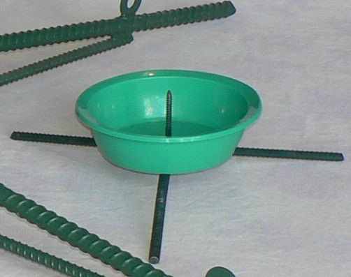 Table Top Rebar Stand, 5/pk (for 2'-4' trees) Tips not included ...