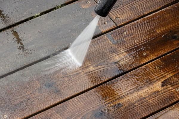 Deck Pressure Wash