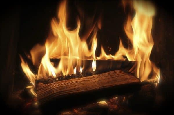 Seasoned Firewood Fire