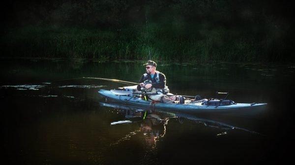 Fishing in a Kayak