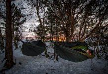 Winter Hammock Camping