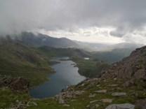 Second amazing view of the route. Great since Snowdon was completely in the clouds