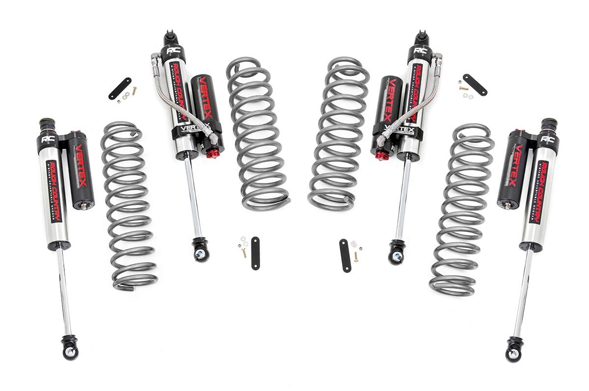 2 5in Jeep Suspension Lift Kit W Vertex Adjustable