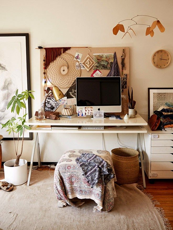 Home Office Boho Pursuit Of Daydreams