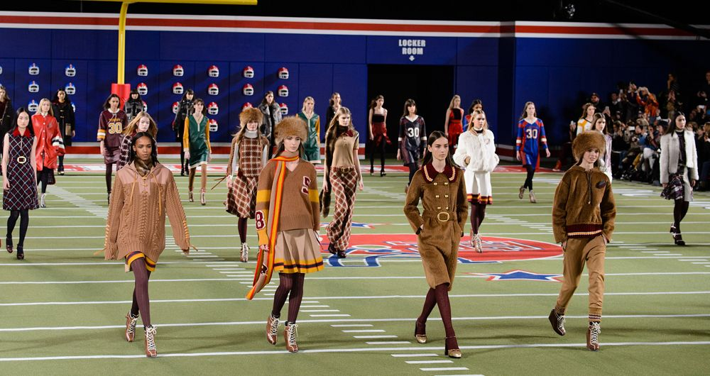 Fashion and Football (Tommy Hilfiger FW15)