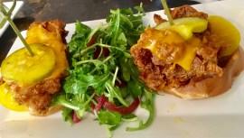 Crispy Chicken N' Waffle Sandwich