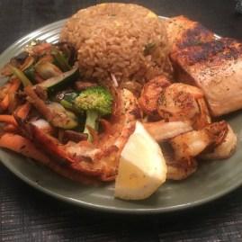 Seafood Hibachi
