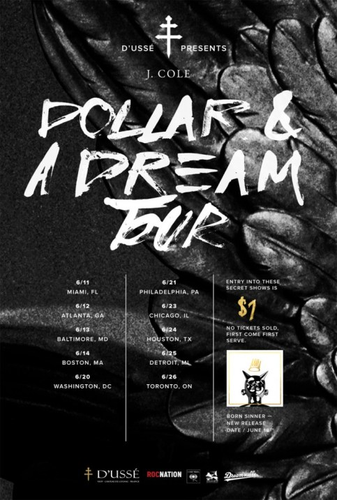 J. Cole Dollar & A Dream Tour