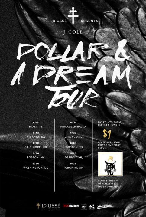 J. Cole Dollar & A Dream Tour