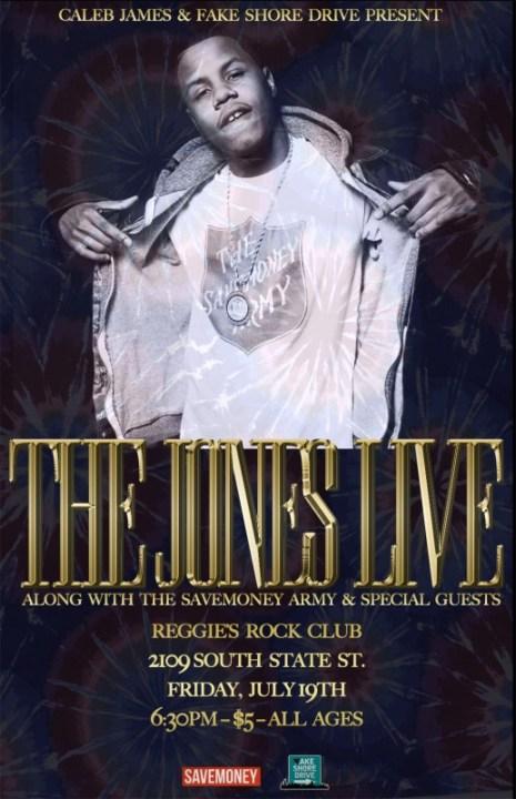 Caleb James The Jones Live