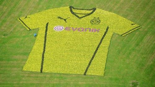 Borussia Dortmund Flowers Jersey